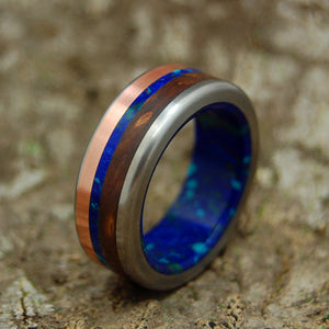 Men's Wedding Rings - Copper Wedding Ring - Unique Wedding Ring | ARCTIC VIKING
