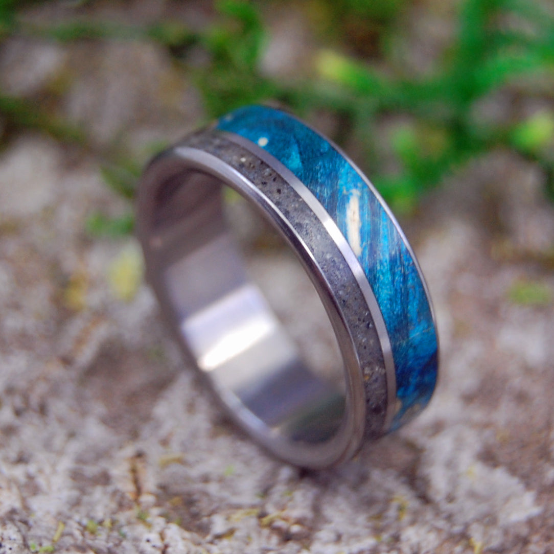 Beach Sand Wedding Ring - Womens Ring Mens Ring | COAST OF CALI - Minter and Richter Designs