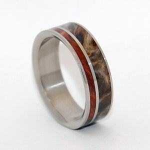 Between Angels and Man | Handcrafted Wooden Wedding Ring