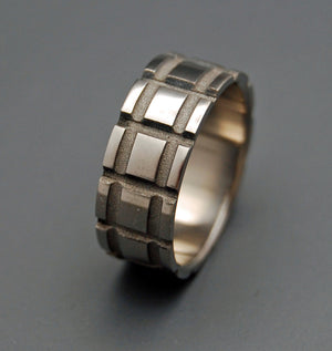 STARKILLER INSPIRED | Made for Blade Runner 2049 Movie - Titanium Wedding Rings - Minter and Richter Designs