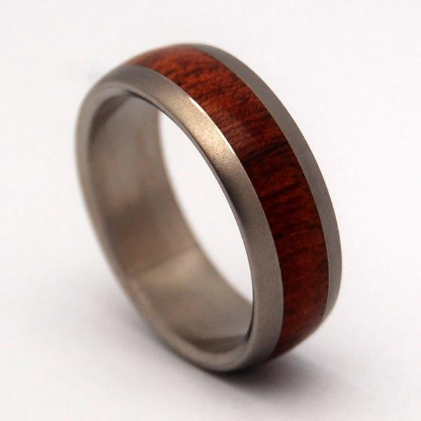 Minter richter wooden wedding rings every drop of for Design your own wooden ring