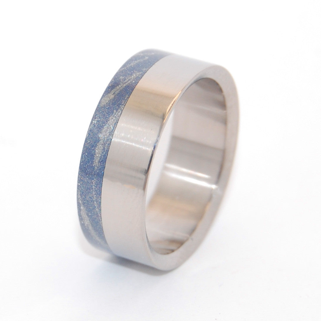 The Laws of Light and Heat | M3 and Titanium Wedding Ring - Minter and Richter Designs
