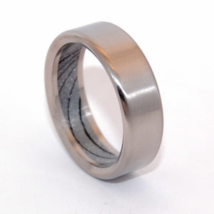 BondJamesBond | M3 and Titanium Wedding Band - Minter and Richter Designs