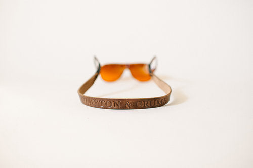 Monogram Sunglass Strap - Free Engraving! - Minter and Richter Designs