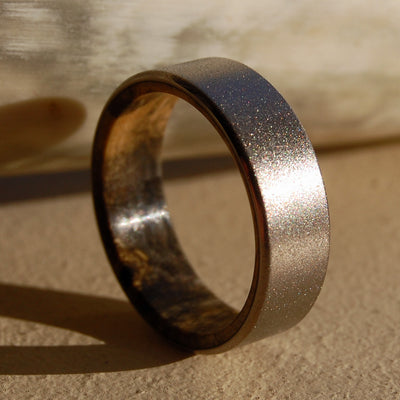 Minter Richter Titanium Rings Unique Wedding Rings Mens Rings