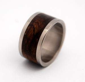 Owl | Handcrafted Titanium and Wood Wedding Rings - Minter and Richter Designs
