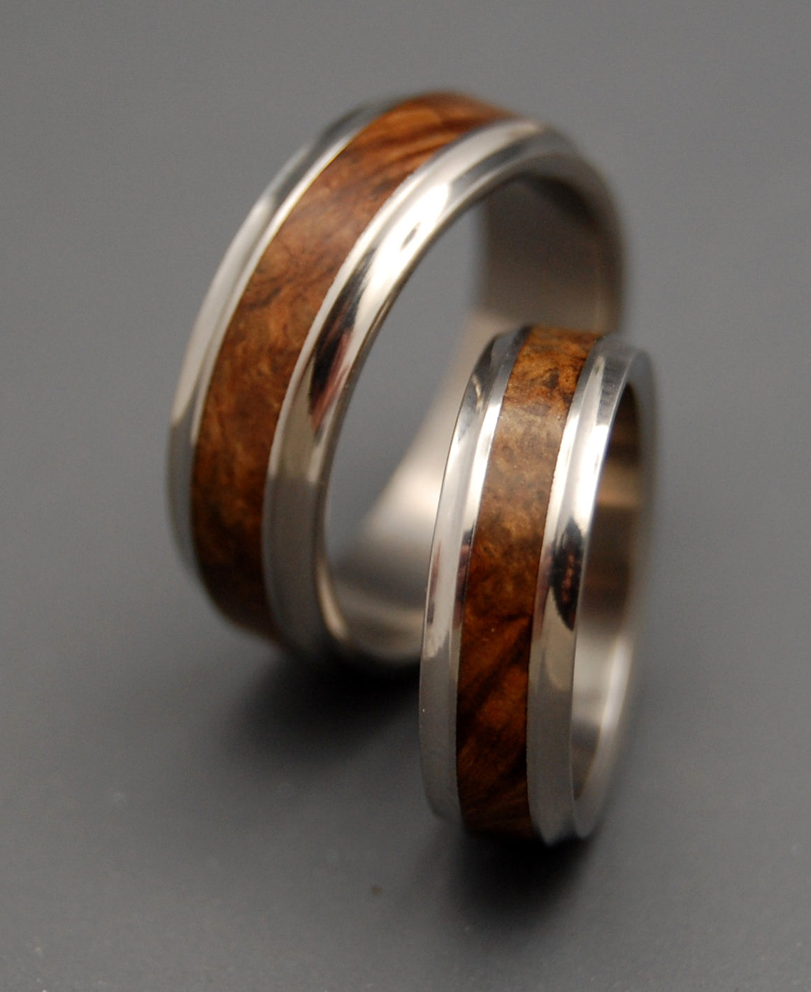 Windham | Wooden Wedding Ring Set - Minter and Richter Designs
