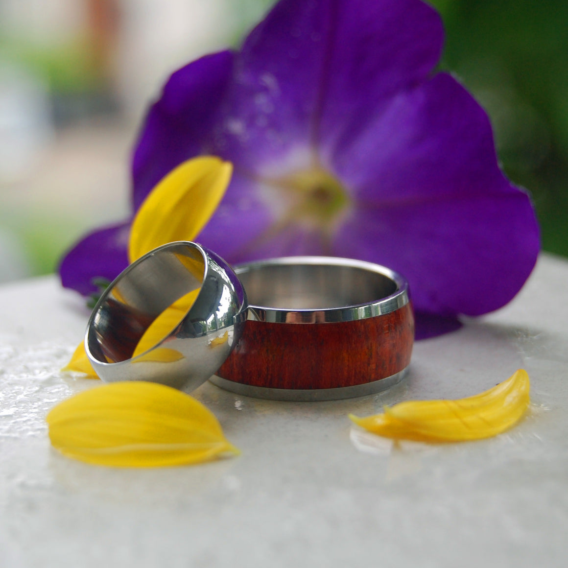Taj Mahal | Hand Crafted Titanium Wedding Ring