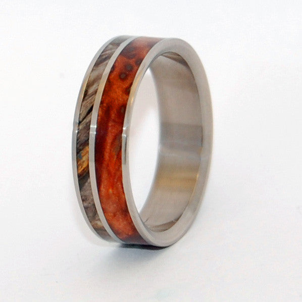 Faith is the Link | Handcrafted Wooden Wedding Ring