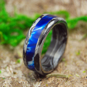 Men's Wedding Rings - Black Wedding Rings - Unique Rings | GREEK GOD VINTAGE