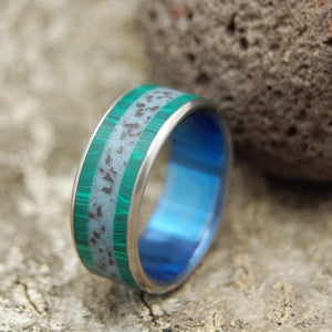 Icelandic Wedding Ring - Titanium Weddng Ring | ON THE RING ROAD