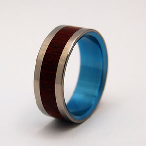 Grooms Ring For Life | Cocobolo Wedding Ring