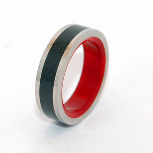 Hot! Hot! Hot! | Handcrafted Titanium Wedding Ring