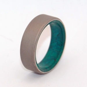 JADE FOREST | Jade Stone Wedding Rings - Unique Wedding Rings - Minter and Richter Designs