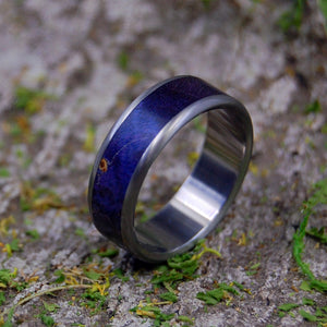 Titanium Wedding Rings | LINGER IN THE HILLS BESIDE HER