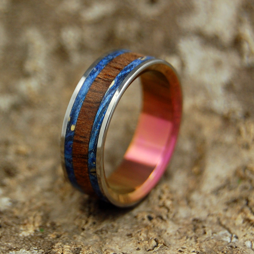Mens/Womens Wedding Rings - Custom Rings - Wood Rings | MY BRIGHT LOVE