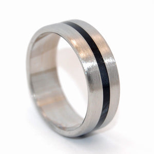 O'CONNOR | Black Rings - Steel Wedding Ring - Minter and Richter Designs