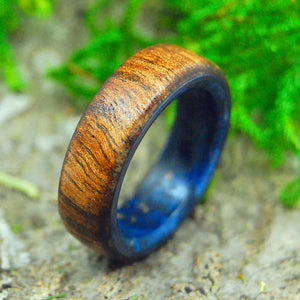 Mens Wooden Wedding Ring, Womens Wedding ring | POSEIDON