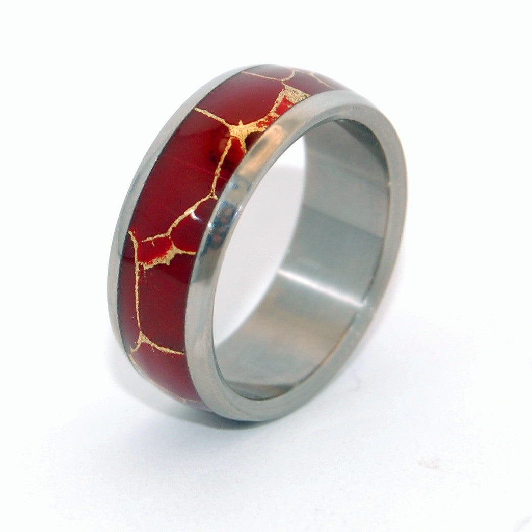 Rain Bringer | Stone Wedding Ring