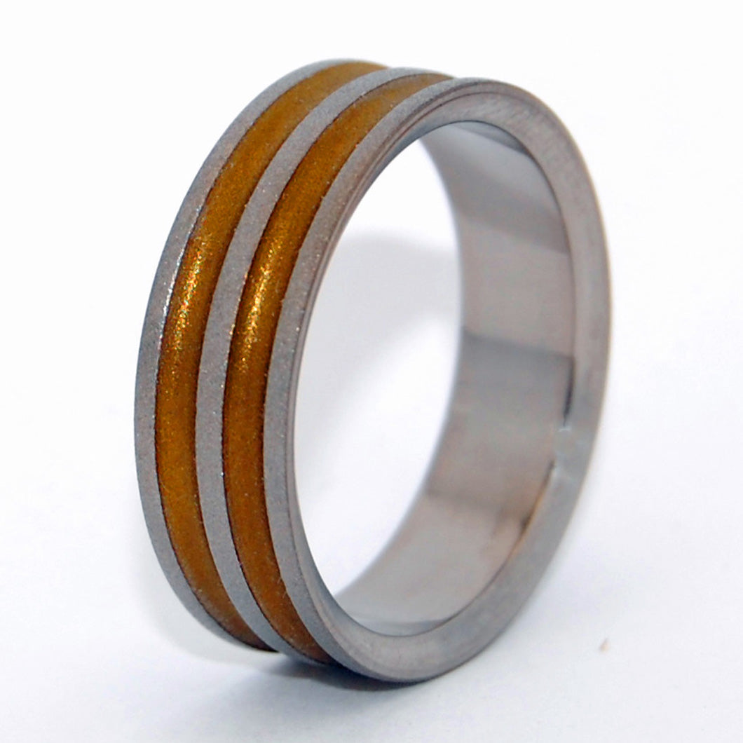 Men's Titanium Wedding Rings - Unique Wedding Rings | RUSTIC RING