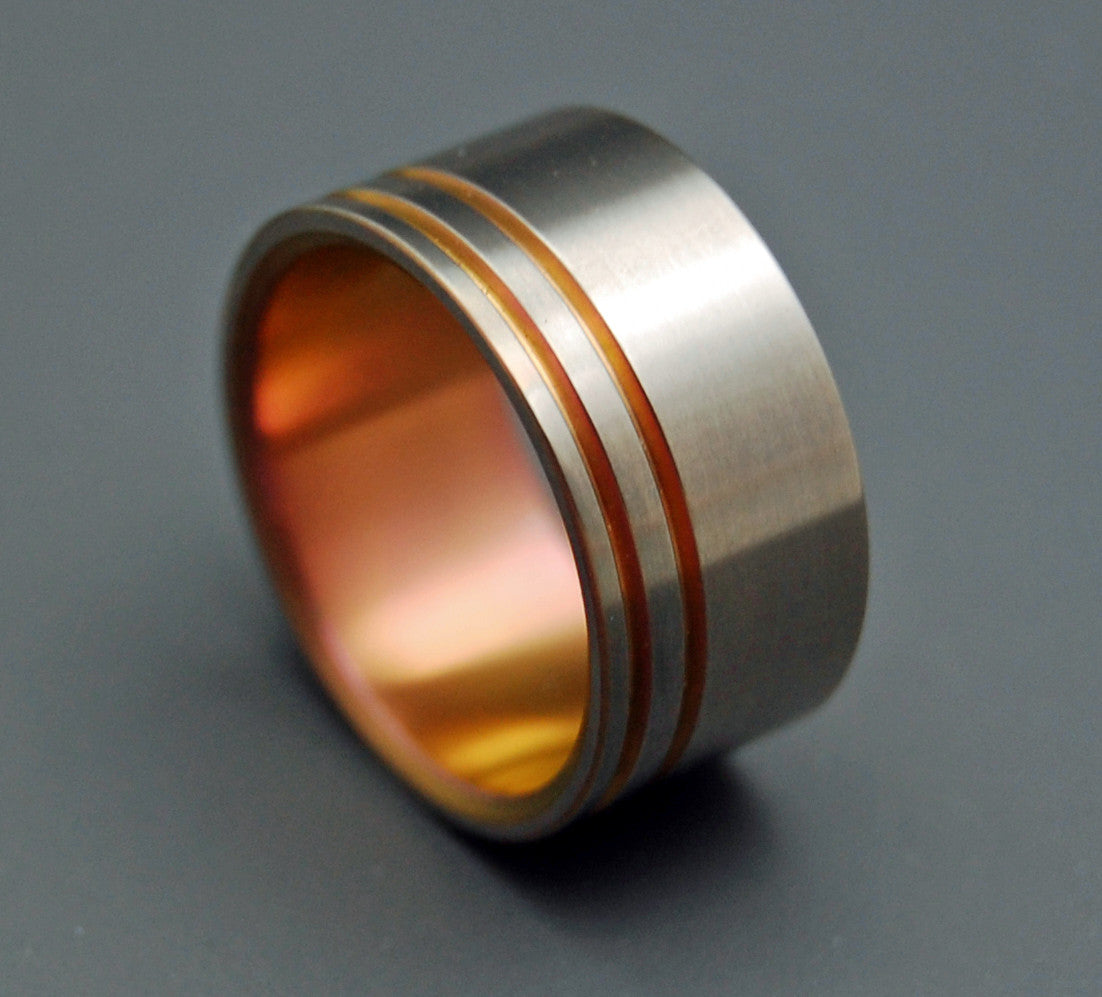 ANDROID | Blade Runner 2049 Series - Movie Memorabilia Wedding Ring - Minter and Richter Designs