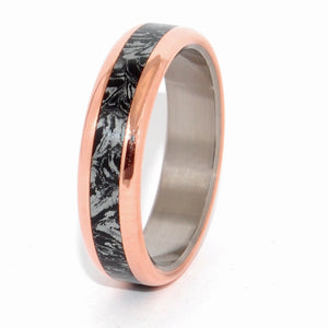 That Night the King Did Not Sleep | M3 and Copper Titanium Wedding Ring - Minter and Richter Designs