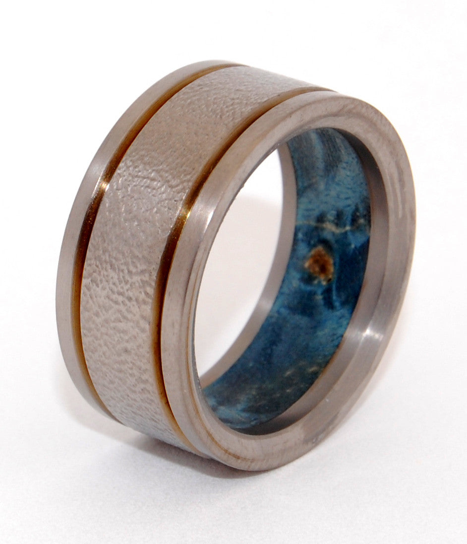 Titan | Handcrafted Titanium and Wood Wedding Ring - Minter and Richter Designs