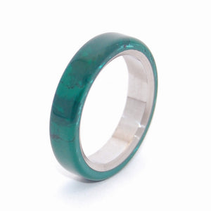 ALL I WANT IS YOU AND JADE | Titanium & Jade Wedding Rings - Minter and Richter Designs