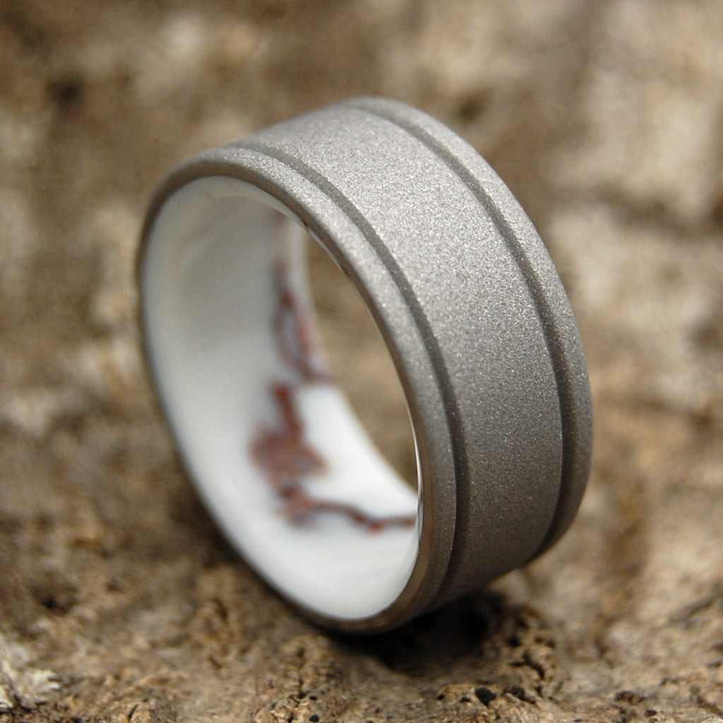 Mens Wedding Rings - Custom Mens Rings - Stone Rings | BALTIC WILD HORSE