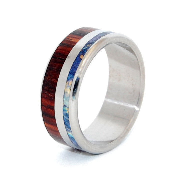Beyond Waves of Love | Wooden Wedding Ring - Minter and Richter Designs