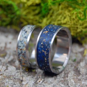 Icelandic Wedding Rings - Concrete Wedding Rings | BEACHES OF ICELAND