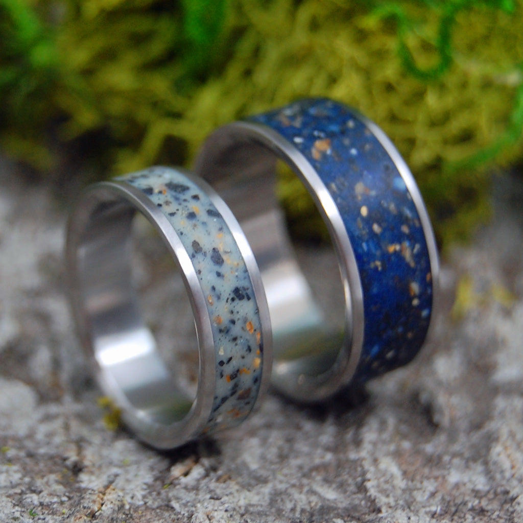 BEACHES OF ICELAND | Beach Sand Rings - Icelandic Wedding Ring - Unique Wedding Rings  Rings - Minter and Richter Designs