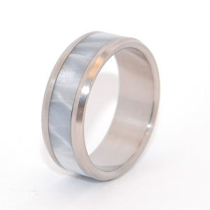 Handcrafted Titanium Wedding Rings | BEVELED ASTAIRE