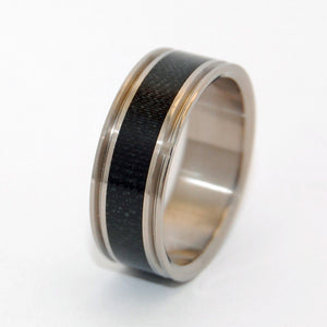 Carbon Fiber Man | Handcrafted Titanium Wedding Ring