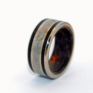 The Resolute | Mens Handcrafted Titanium Ring and Wedding Band