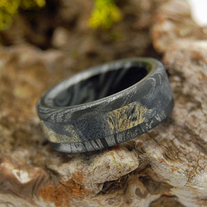 Greek God Dons Black | Black Wedding Rings - Titanium Rings