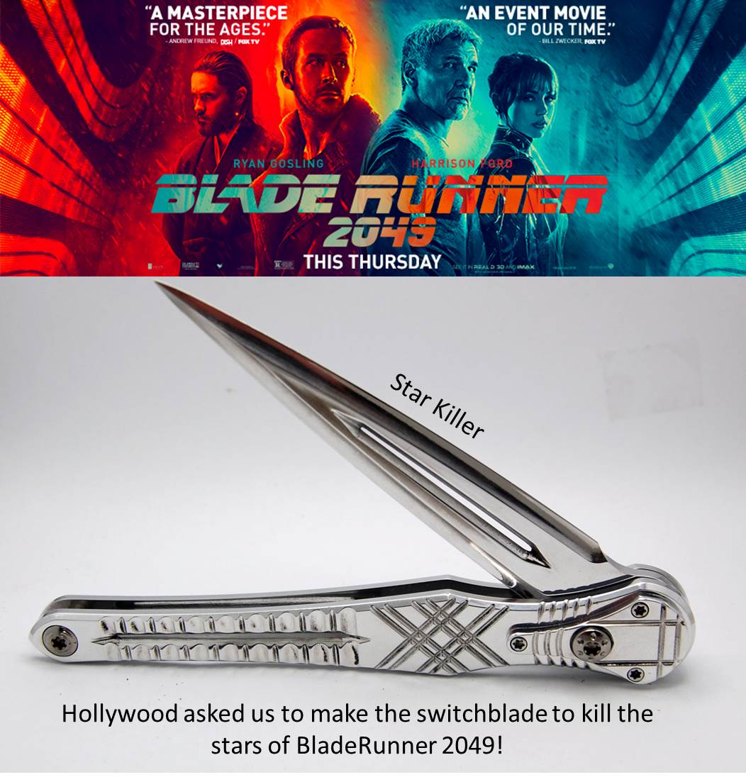 Star Killer Sandblasted | Inspired by the Knife we made for Blade Runner 2049 Movie