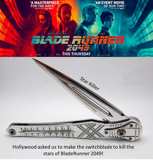 Star Killer Knife - Originally Created for Blade Runner 2049 Movie - Minter and Richter Designs