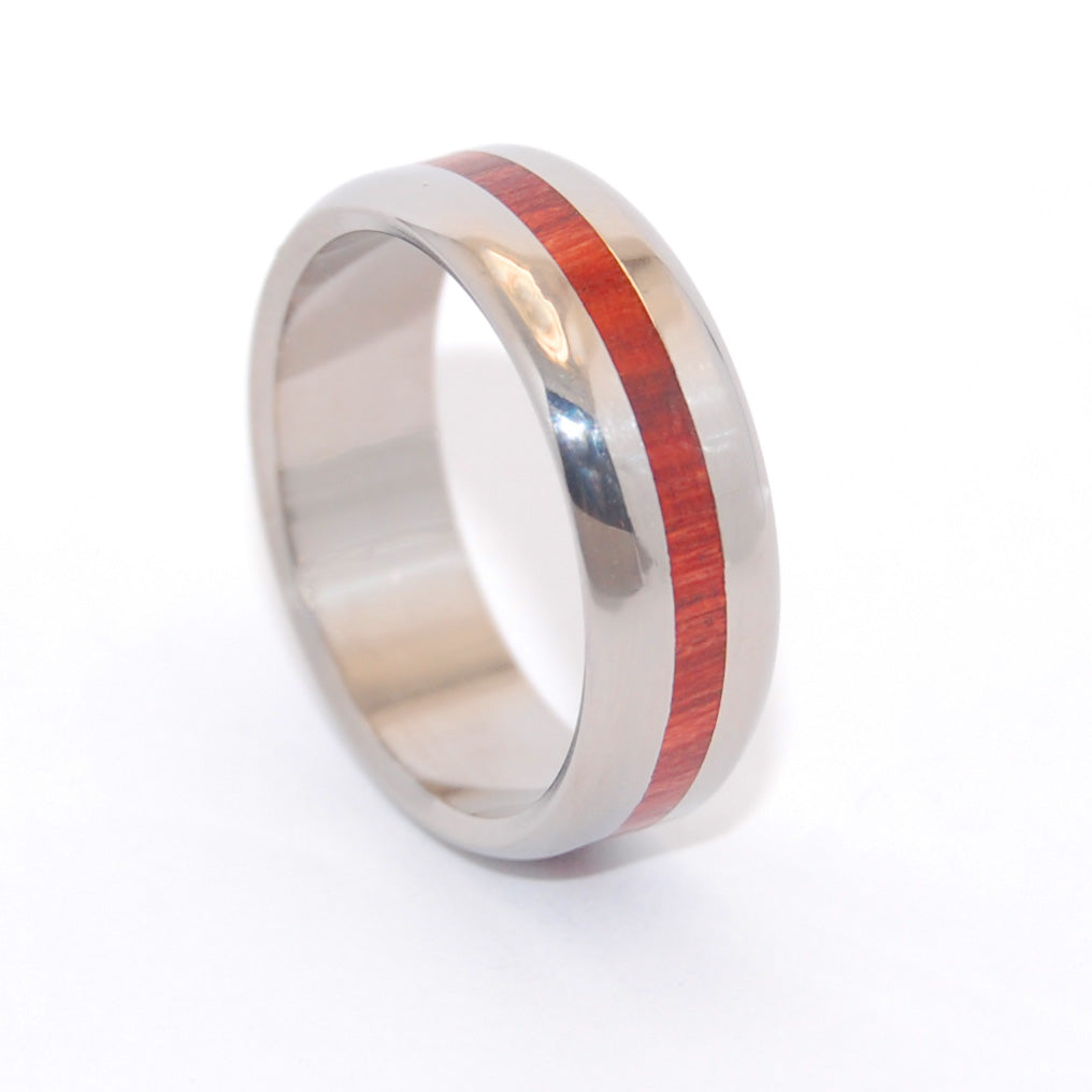 With Your Heart | Wooden Wedding Ring - Minter and Richter Designs