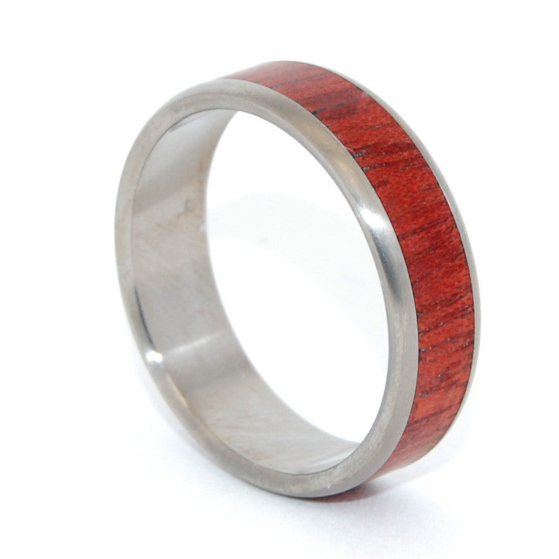 Handcrafted Wooden Wedding Ring | Autumn Leaves - Minter and Richter Designs