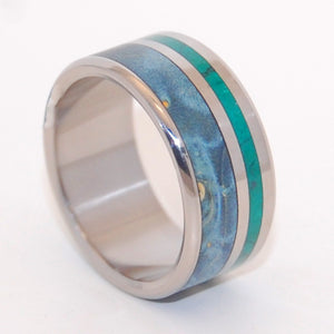 wooden wedding ring