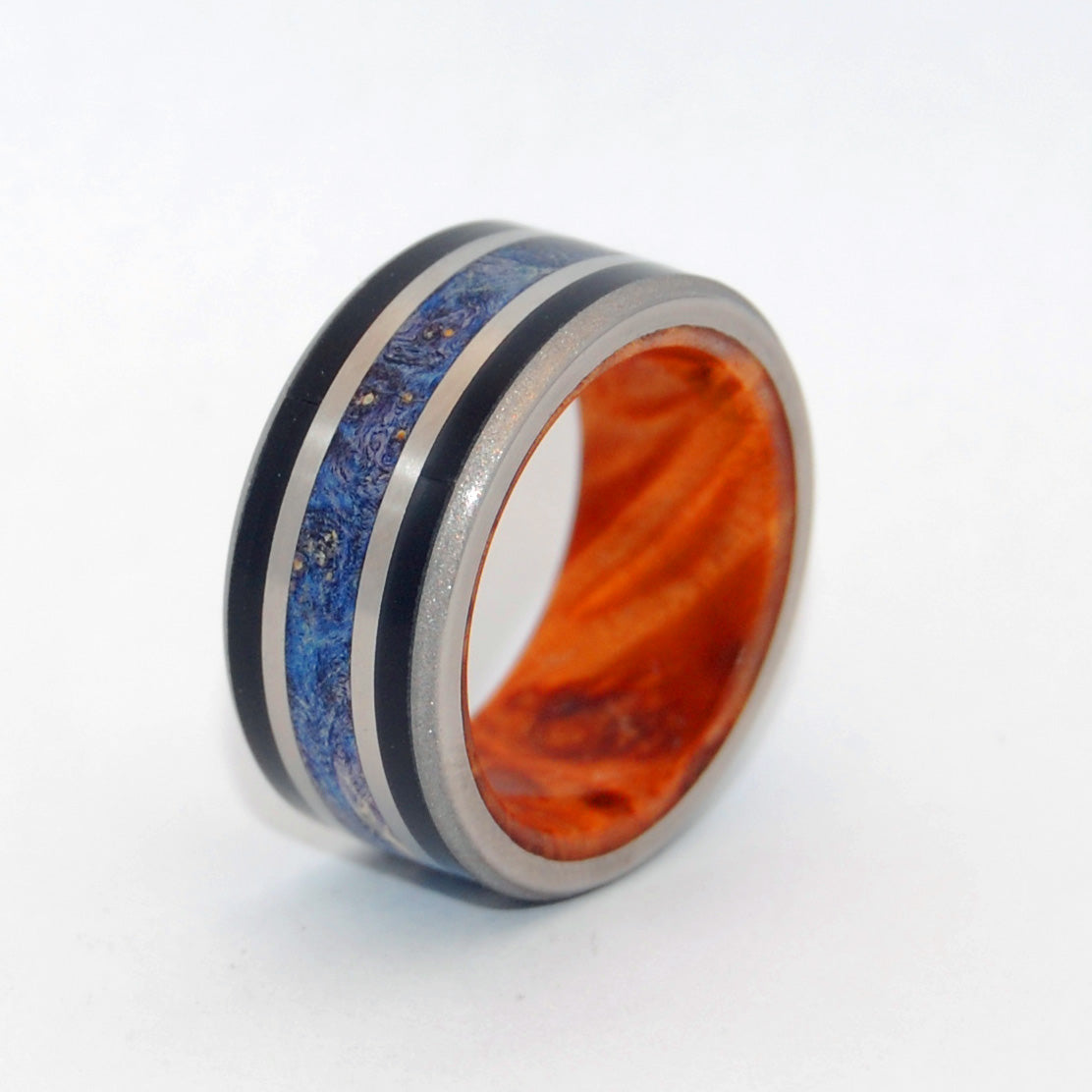 Triumph - A Masterpiece | Handcrafted Titanium Wedding Ring - Minter and Richter Designs