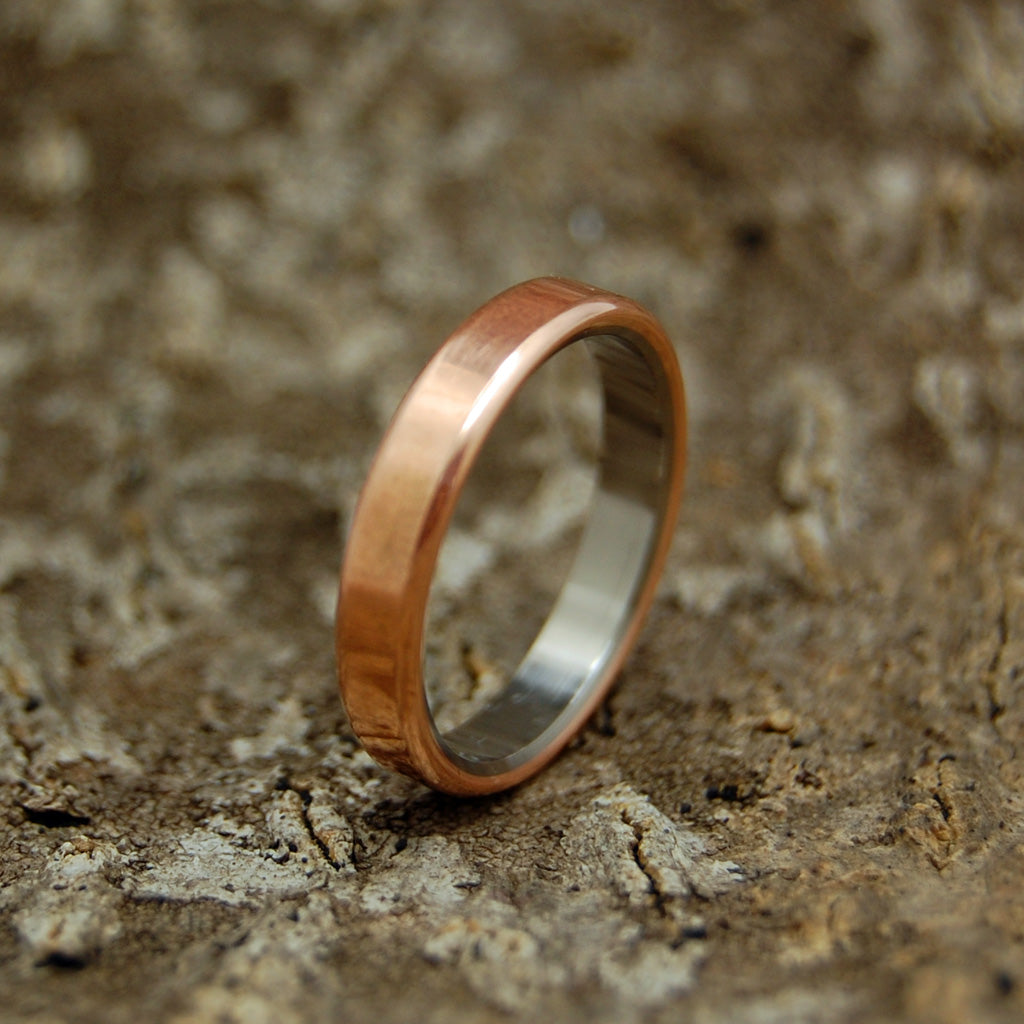 Boston Copper | Handcrafted Women's Titanium Wedding Rings