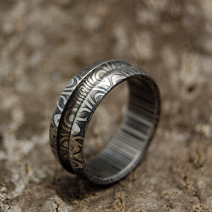 Men's Handcrafted Wedding Rings - Damasteel Wedding Rings | CHORUS