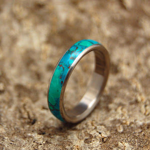 Titanium Wedding Ring | STONE OF EILAT