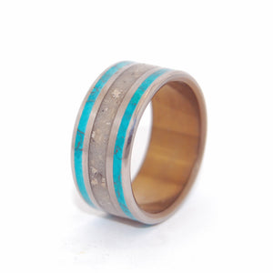 Titanium Men's Wedding Ring | SEA OF GALILEE