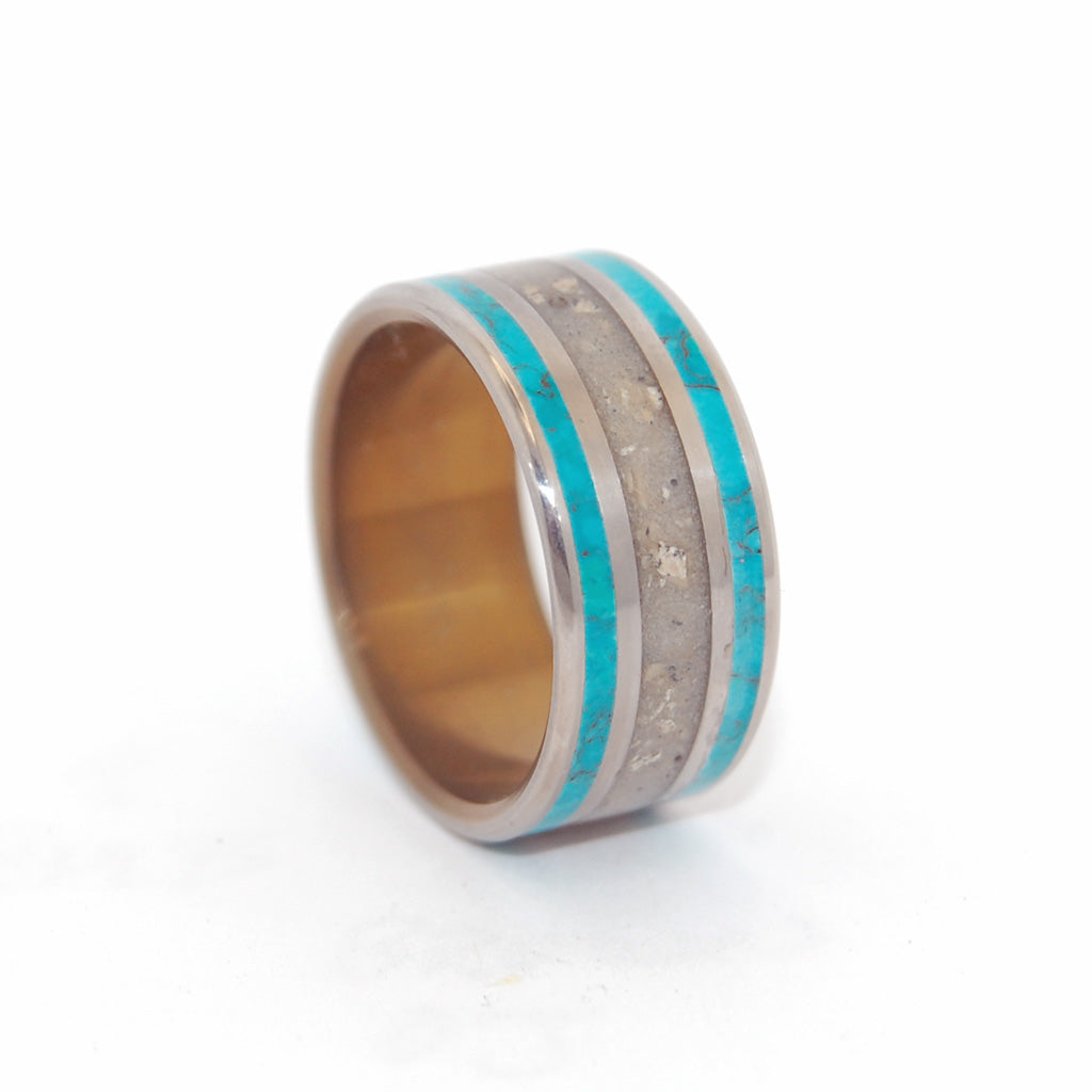 Sea of Galilee | Titanium Men's Wedding Ring
