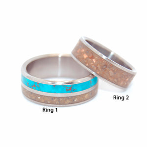 CITY OF DAVID | Ground Stones of Jerusalem - Unique Wedding Rings - Minter and Richter Designs