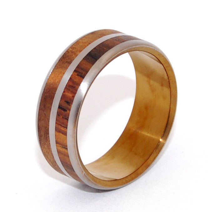 wood wedding ring - Wooden Wedding Rings