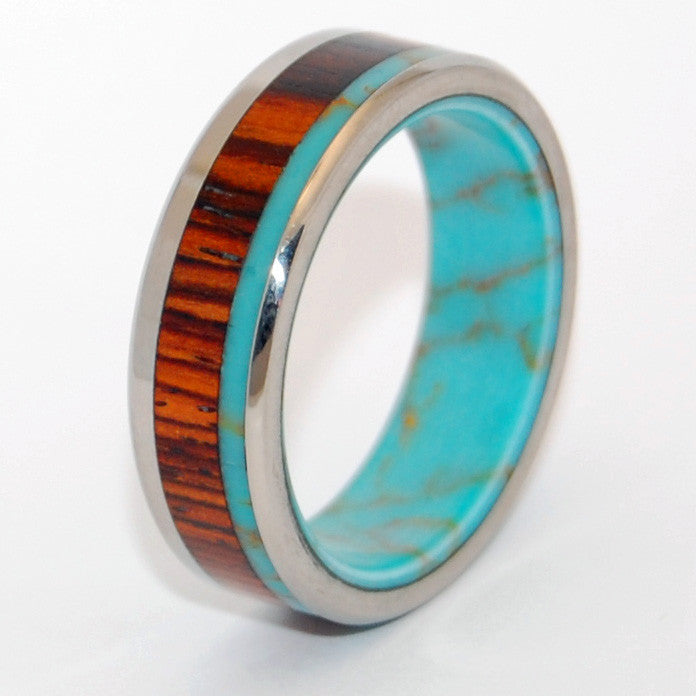Forests of Tibet | Tibetan Turquoise Wedding Ring